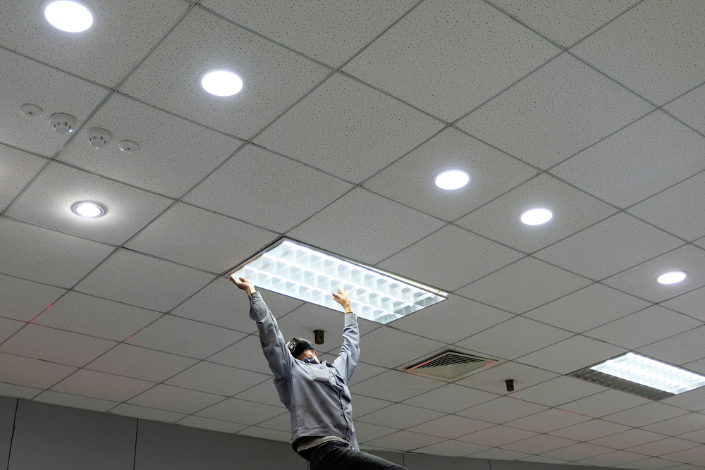 Commercial Lighting Installation